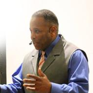 Alfred Johnson speaks