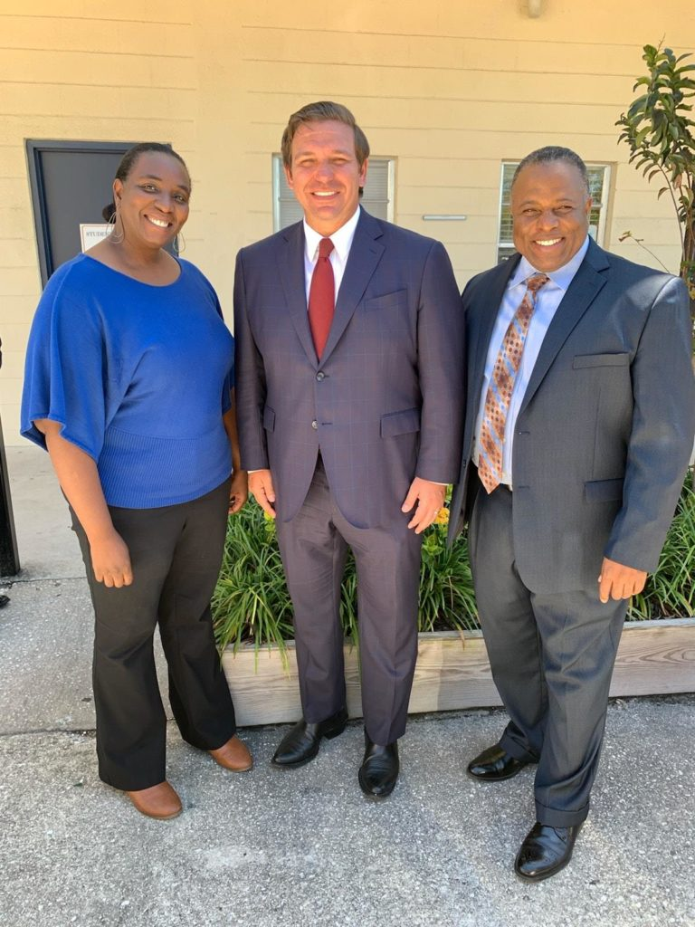Governor Desantis & Alfred Johnson FAMA