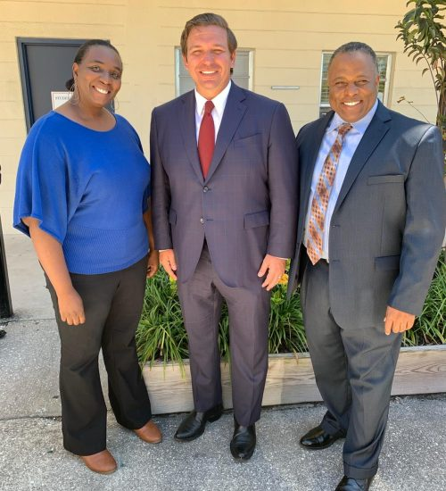 Governor Desantis & Alfred Johnson FAMA